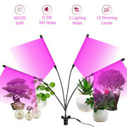 Led Grown Light Plant Growing Lamp Lights With Clip For Indoor Plants 80w