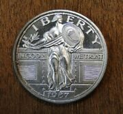 Standing Liberty 1987 1 Ozt .999 Fine Silver Round