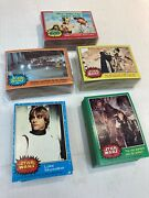 Complete Set Series 1-5 Topps 1977 Star Wars Trading Cards