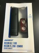 Giant Recon Hl 1100 Lumen Cycling Rechargeable Headlight Enhance Visibility 3672