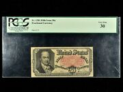 Fr 1381 Series 1875 50c Fractional Currency Pcgs Vf30