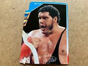 Rare Vintage Wwf Cut Blue Card Hasbro Andre The Giant No Action Figure Wwe
