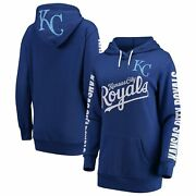 Kansas City Royals G-iii 4her By Carl Banks Womenand039s Extra Innings Pullover
