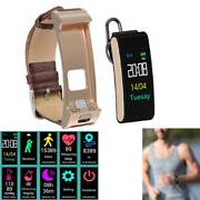Bluetooth Smart Watch Handsfree Earpiece Headset For Ios Android Cell Phone