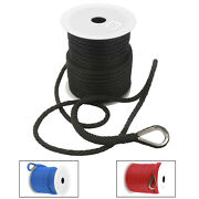 Realplus 3/8 150and039 Premium Solid Braid Mfp Anchor Line Anchor Rope