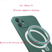 For Iphone 12 Magsafe Phone Protection Case Magnetic Wireless Charging New