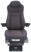 Prime Seating 300c Blue Grey Cloth Truck Seat Air Ride Adjustable Seat