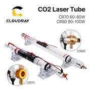 Cloudray 60w 90w Co2 Laser Tube Length 1250mm Dia.55mm 80mm Upgraded Metal Head