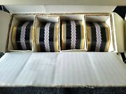 8 Noritake Kingand039s Guard Napkin Rings Collection Beautiful Pre-owned