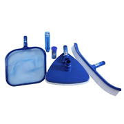 Hydro Tools Premium Above And In Ground Pool Maintenance Kit With Test Strips