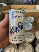 Lot Of 15 Hundertjahriges Jubilaum Beer Schell's S/s Can Grafton Iowa