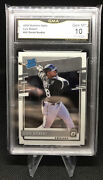 2020 Donruss Optic Rated Rookie Luis Robert Rc 62 Graded Gma 10 White Sox