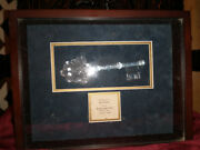 Hall Of Fame Bo Diddley 2oo4 Toledo Oh Key To The Cityused Minor Scratchesandnbsp