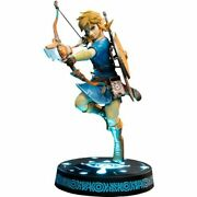 Link Breath Of The Wild Collectors Pvc Statue Free Global Shipping