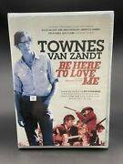 Be Here To Love Me A Film About Townes Van Zandt / Factory Sealed / Usa Format