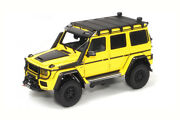 Almost Real Alm860301 118 Mercedes W463 G500 Brabus 500 4x4 2020 Sunbeam Yellow