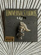 Vintage Sterling Silver Universal Studio Charms Duck Cowgirl And Tweety Gunslinger