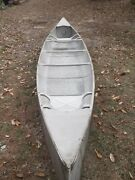 Grumman Aluminum Canoe 15ft Pick Up Only Double-ender Vintage Very Good Cond