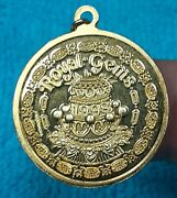Rex 1998 .925 Sterling Silver Doubloon Charm A255