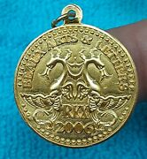 Rex 2006 .925 Sterling Silver Doubloon Charm A247