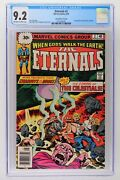 Eternals 2 - Marvel 1976 Cgc 9.2 1st App Of Ajak And Celestials - 30 Cent Variant