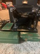Antique Singer Sewing Machine Model 221-1 1950 A True Featherweight Beauty