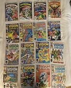 Vision And The Scarlet Witch 1-12 And 1-4 Complete Series - Wandavision
