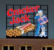 Cracker Jack Billboard Animated Neon Sign For O-scale-lights Flashes And More