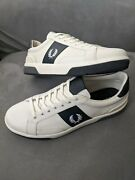 Nwot Fred Perry Menand039s B721 Canvas Sneakers Casual Low Top Tennis Shoes Size 11