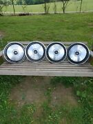 Late 1960s Early 1970s Ford Motor Company Hubcaps