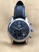 Oris Artelier Chronograph Automatic Menand039s Watch With Box And Manuals
