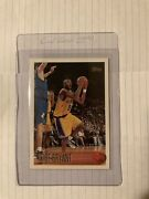Kobe Bryant 1996-97 Topps 138 Rookie Card Los Angeles Lakers Hall Of Famer