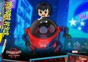Hot Toys Cosb641 Peni Parker And Spider Spider-man Cosbaby Mini Figure Model Toy