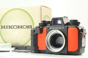 [near Mint In Box And Manuals] Nikon Nikonos V Underwater Camera Body From Japan