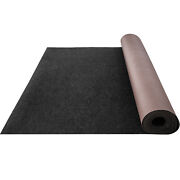 Vevor Bass Boat Carpet 6and039x29and039 32 Oz Cutpile Marine Carpet Black In/outdoor Rugs