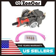 Zoncar 1pcs Carburetor New Blake Fits 30mm Pwk For Koso Oko Moped Scooter Pit Us