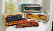 Vintage Lot Of H/o Scale Trains