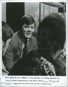 1970 Press Photo David Keene National Chairman Of Young Americans For Freedom