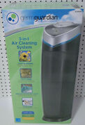 Germguardian Ac4825e 3-in-1 Air Cleaning System Hepa Filter Uv-c Light 3 Speeds