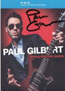 Paul Gilbert Behold Electric Guitar Signed Cd Very Rare Autographed Mr Big