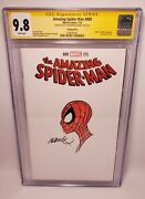 Amazing Spiderman 800 9.8 Cgc Sketch Variant Signed + Sketch By Humberto Ramos