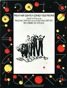 Mccartney Treat Her Gently-lonely Old People Sheet Music Piano/v/chords Beatles