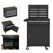 Tools High Capacity 5-drawer Rolling Tool Chest Portable Tool Box