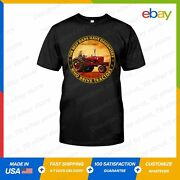The Best Dads Have Daughters Who Drive Tractors Farmer Gift T-shirt S-5xl