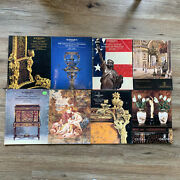 8 Sotheby's And Christie's Catalogs - 19th And 20th Century Furniture, Decorations