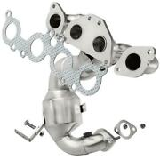 Catalytic Converter With Integrated Exhaust Manifold For 2009-2011 Volvo Xc90 4.