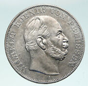 1871 Germany German States Prussia Wilhelm I Defeated France Silver Coin I91481