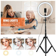 Rgb 10 13and039and039 Led Ring Light And Stand For Youtube Tiktok Makeup Video Phone Selfie