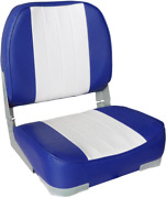 Leader Accessories New Low Back Folding Boat Seat -free Shipping-