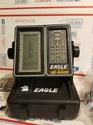 Eagle Z-6000p Lcg Display Portable Fish Finder With 2 Batteries